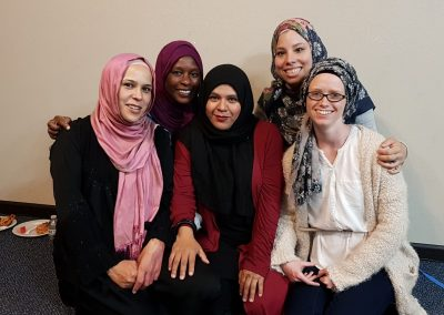 SISTERS SWAPPING HIJABS