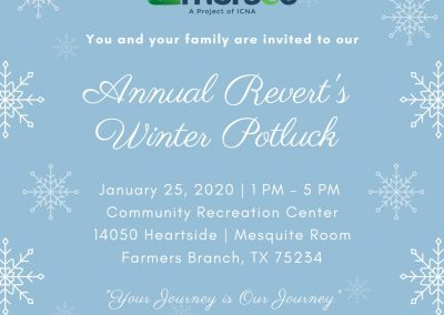 Annual Revert's Winter Potluck